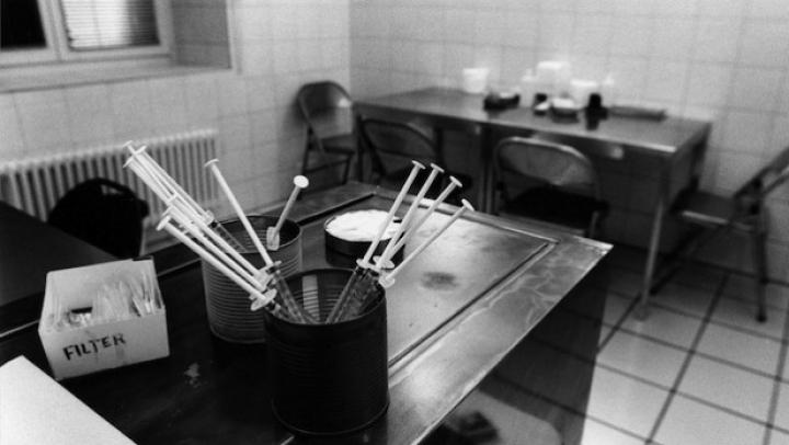 """Prima """"sală de consum de droguri"""" din Franța primește aproape 200 de persoane pe zi"""