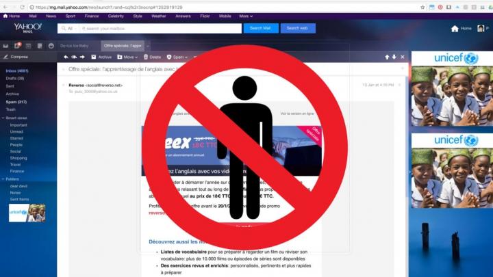 ATENŢIE! Cum blochezi emailurile pe Yahoo, dacă te stresează cineva
