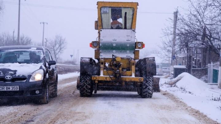 Trafic fără probleme în Orhei. Toate drumurile sunt practicabile