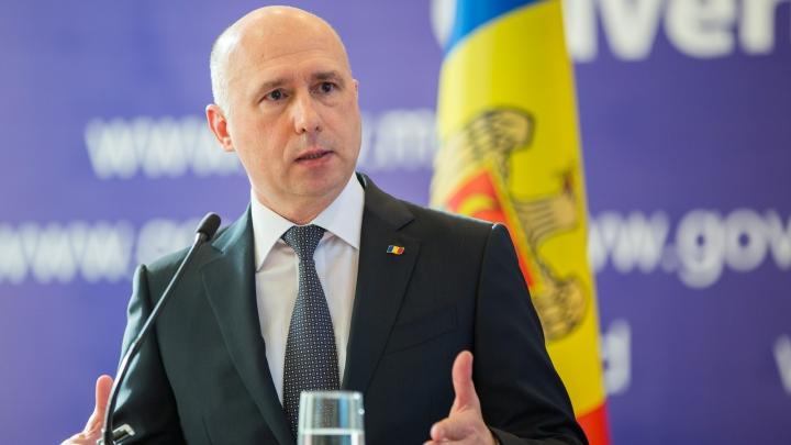 Pavel Filip: Prin anularea legii miliardului PSRM găsește pretext de a-și face campanie electorală