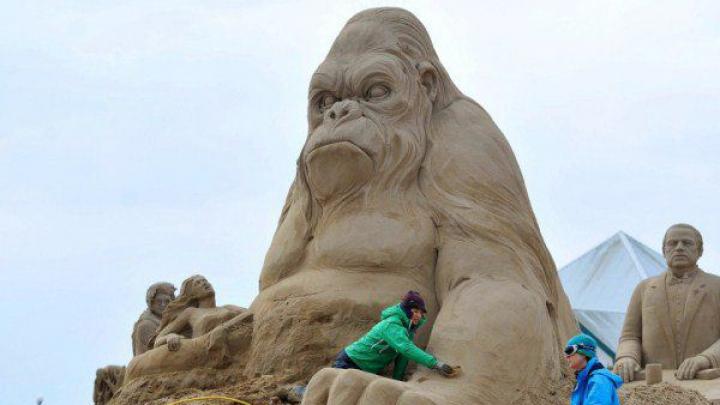 Cele mai INCREDIBILE sculpturi din nisip! Adevărate OPERE DE ARTĂ (GALERIE FOTO)