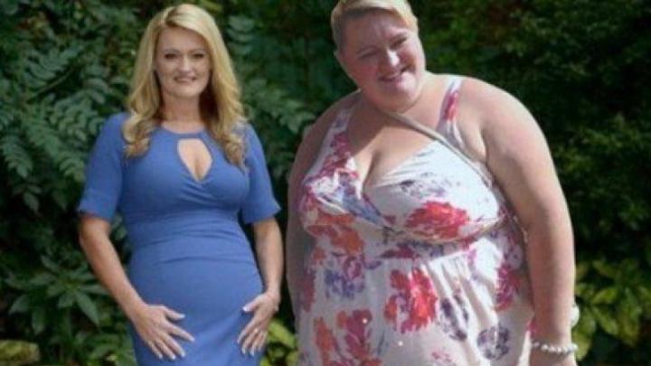 Povestea femeii care a slăbit 89 de kilograme în 18 luni! Iată ce a scos din dietă (FOTO)
