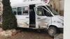 ACCIDENT VIOLENT în Capitală! Un microbuz s-a ciocnit cu un automobil (FOTO/VIDEO)