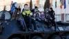 Copii în vizită la Brigada Fulger. Cum au fost impresionaţi de mascaţi (FOTO)