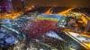 Unde au ajuns materialele folosite pentru realizarea tricolorului din Piaţa Victoriei