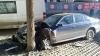 ACCIDENT GRAV în Capitală! Două maşini au fost FĂCUTE ZOB (FOTO)
