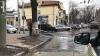 Râu în centrul Capitalei. O ţeavă spartă a inundat mai multe străzi (VIDEO)