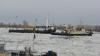 Pericol inevitabil de catastrofă pe Dunăre. Bucăţile de gheaţă ameninţă să scufunde peste 100 de nave (FOTO)