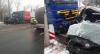 ACCIDENT CUMPLIT la Peresecina: Un tânăr a murit după ce maşina sa a fost lovită de un TIR (FOTO)