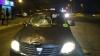 VIDEO ŞOCANT! Un pieton ZACE PE ASFALT după ce a fost lovit de un automobil
