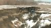 Zeci de case din raionul Cantemir, în PERICOL. Râul erodează solul, iar prăpastia înaintează spre case