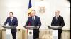 Prima întâlnire a şefilor celor mai importante instituţii din stat. Declaraţiile lui Andrian Candu, Pavel Filip şi Igor Dodon (VIDEO)