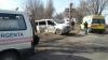 ACCIDENT GRAV la ieşire din Capitală. Două maşini au fost făcute zob (FOTO)
