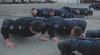 PROVOCARE ONORATĂ! Inspectorii de Patrulare au făcut flotări în cadrul campaniei 22 Push-up Challenge (VIDEO)