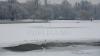 Gheaţa de pe lacuri, PERICULOASĂ! Meteorologii avertizează oamenii