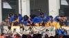 Scene incredibile! Sute de oameni, îmbrăcaţi în costume medievale, s-au bătut cu portocale (VIDEO)