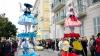 Spectacol în stil francez. Carnavalul de la Nisa se desfărşoară sub măsuri sporite de securitate