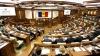 """Sesiunea parlamentară de primăvară a început cu Imnul țării intonat de corul Liceului Republican de Muzică """"Ciprian Porumbescu"""""""