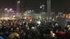 150.000 de oameni au blocat Piaţa Victoriei din București. Protestează împotriva modificării Codului Penal