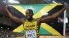 Campionul mondial, Usain Bolt, şi-a demonstrat abilităţile muzicale la finalului turneului Nitro