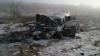 O maşină a luat foc pe drumul Chişinău - Orhei. Patru persoane rănite, una în stare gravă (FOTO)