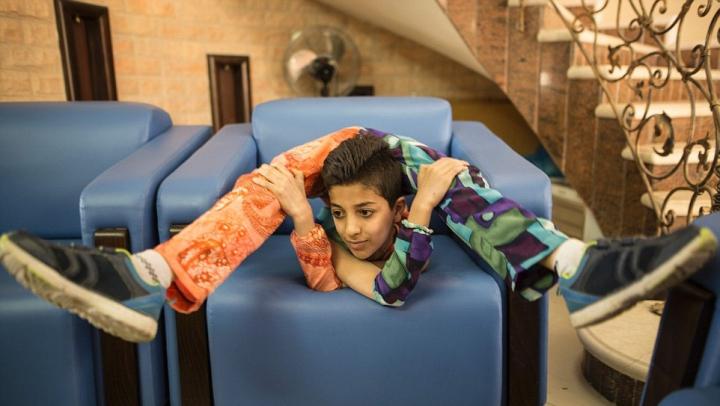 Spider-Man există! Un băieţel de 13 ani din Palestina a ajuns în Guiness Book, după ce a efectuat