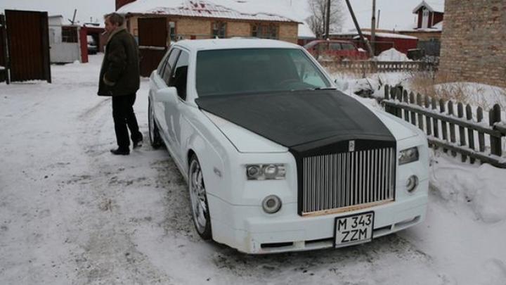 TRANSFORMARE INCREDIBILĂ a unui Mercedes vechi într-un Rolls Royce (FOTO)