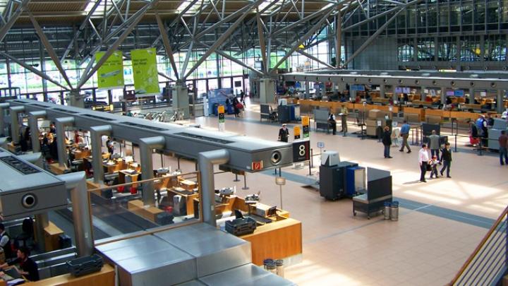 Un nou incident pe aeroportul din Hamburg
