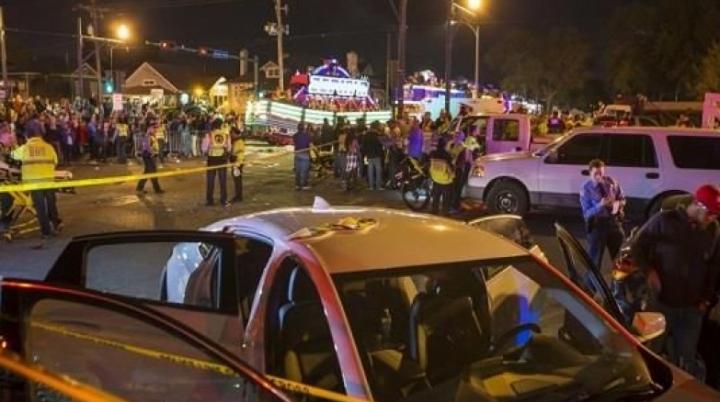 Un bărbat de 25 de ani, pus sub acuzare pentru atacul cu camionul din New Orleans
