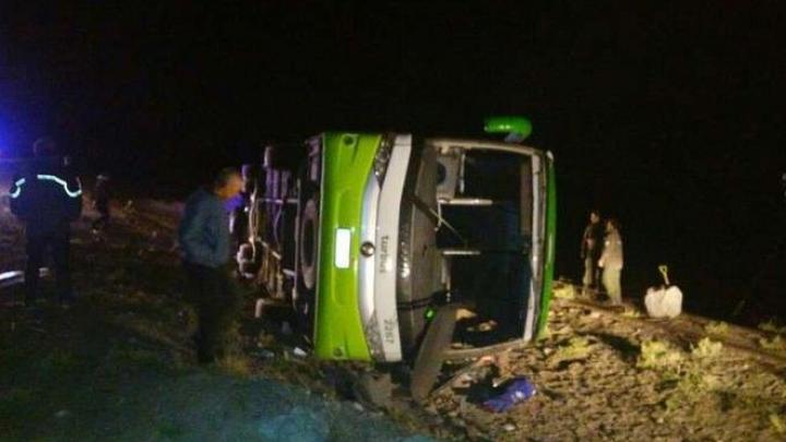 Autocar răsturnat pe şosea în Argentina: Cel puțin 19 oameni au murit