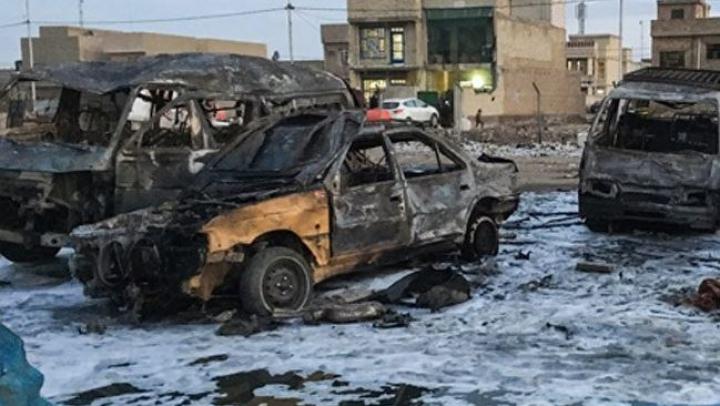 BAGDAD: Un atentat terorist, comis de ISIS, a ucis cel puţin 52 de persoane
