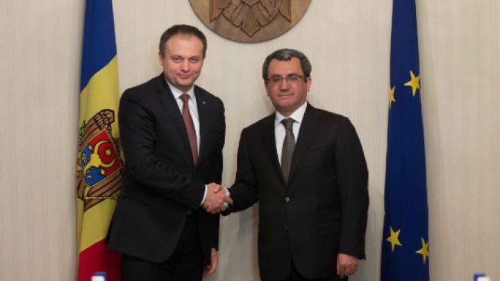Andrian Candu solicită susținerea autorităților din Turcia pentru noi proiecte de dezvoltare a Moldovei