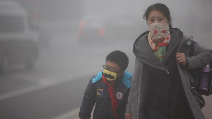 Amestecul de ceaţă şi fum din Europa ar putea fi mai toxic decât aerul poluat din China