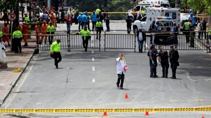 EXPLOZIE PUTERNICĂ în capitala Columbiei. Un poliţist şi-a pierdut viaţa, iar alte 31 de persoane au fost  rănite