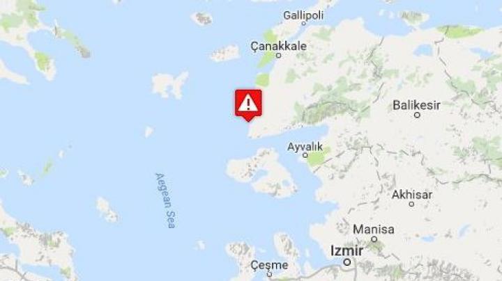 CUTREMUR PUTERNIC în Turcia. Ce intensitate a avut seismul