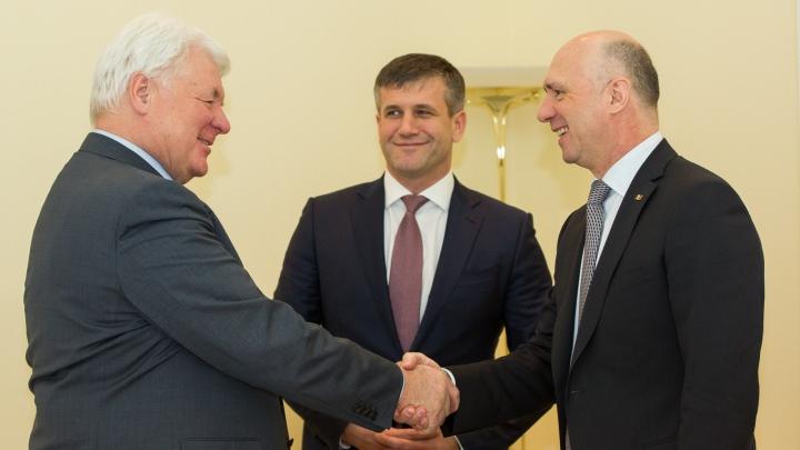 Transferarea datoriilor acumulate către Tiraspoltransgaz. Discuții dintre Pavel Filip și vicepreședintele Gazprom