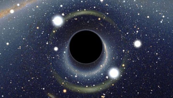 (FOTO) Au găsit o gaură neagră în spaţiu, de 660 de milioane de ori mai mare ca Soarele