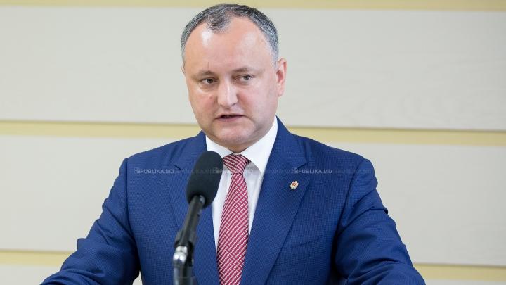 Dodon l-a asigurat pe ambasadorul SUA la Chișinău că nu va denunța Acordul de Asociere cu UE