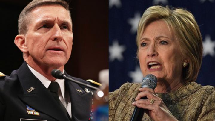 Michael Flynn a plecat din funcţia de consilier pentru securitate naţională. REACŢIA lui Hillary Clinton