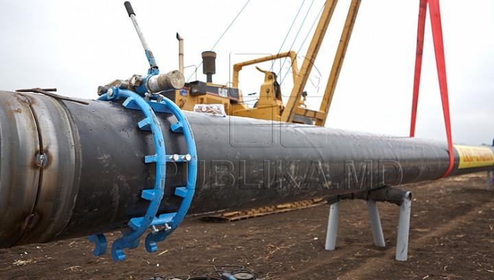 Proiect de importanţă naţională! Construcția gazoductului Ungheni-Chișinău prinde contur