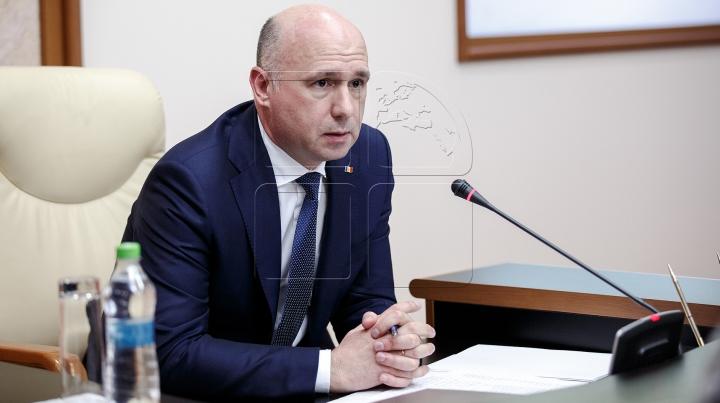 """Pavel Filip: """"Moldova va insista pe retragerea necondiţionată a trupelor ruse din stânga Nistrului"""""""
