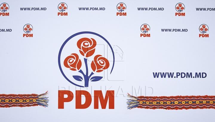 PDM condamnă modul în care Moldova a fost reprezentată la Bruxelles de președintele Igor Dodon