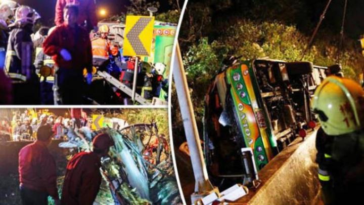 Tragedie în Taiwan. Cel puţin 28 de oameni şi-au pierdut viaţa într-un accident rutier groaznic