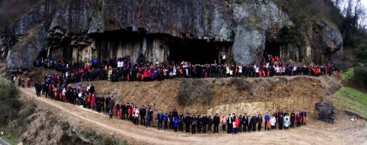 INEDIT! O familie din China are un număr impresionant de membri. Unde s-au reunit aceştia (FOTO)