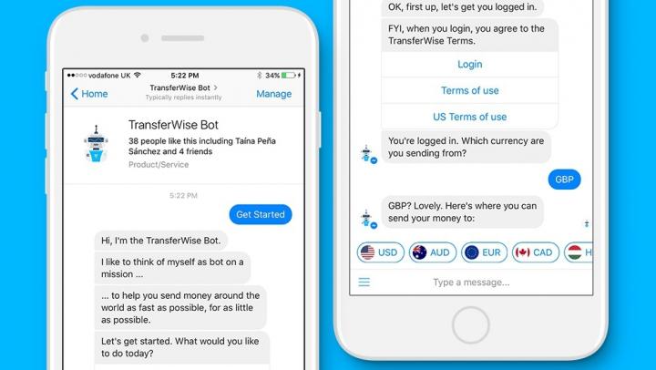 Facebook Messenger îţi permite să transferi bani prietenilor de peste hotare