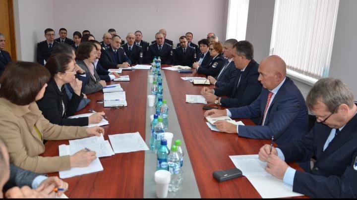 Funcționalitatea noului birou vamal Sud, evaluată de către conducerea Vămii (FOTO)
