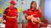 Părinţii, instruiţi de angajaţii SMURD cum să-şi salveze copii ajunşi în situaţii de risc