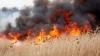 ATENŢIE la arderea vegetaţiei uscate. VÂNTUL PUTERNIC poate provoca extinderea incendiilor de vegetaţie