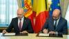 Filip şi Michel pledează pentru consolidarea relaţiilor moldo-belgiene. Oficialii au semnat un Protocol