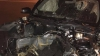 ACCIDENT TERIBIL în Capitală: Un tânăr, internat la reanimare, iar un alt şofer s-a ales cu o rană la cap